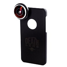 Чехол для Iphone Death Lens Fisheye Lens Bright Green Box 5c