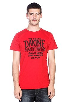 Футболка Dakine Hand Crafted Vintage Red