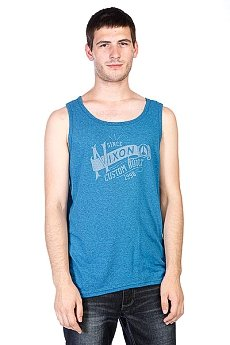 Майка Nixon Wind Up Mock Twist Tank Navy