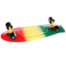 Скейт мини круизер Penny Nickel Ltd Rasta Fade 27 (68.6 см)