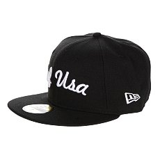 Бейсболка New Era Huf Usa NewEra Black