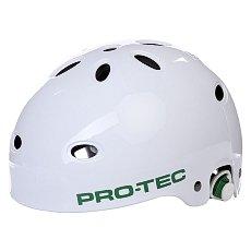 Шлем для скейтборда Pro-Tec White Gloss Wake