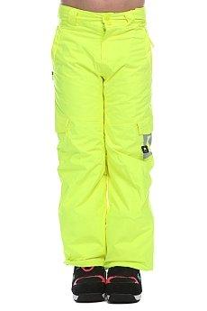 Штаны сноубордические детские DC Banshee Safety Yellow