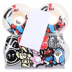 Колеса для скейтборда Pig Animal Friends 101A 55 mm