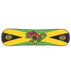 Сноускейт Santa Cruz Rasta Hand Black Plank