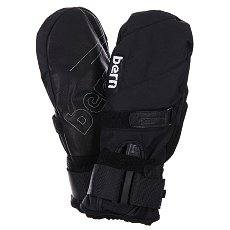 Варежки сноубордические Bern Synthetic Mittens Removeable Wrist Guard Black