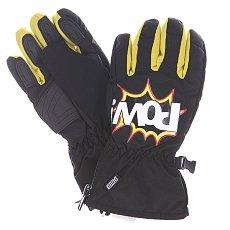 Перчатки сноубордические детские Pow Grom Glove Black