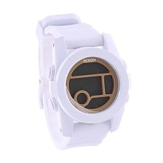 Часы женские Nixon Unit 40 All White/Gold