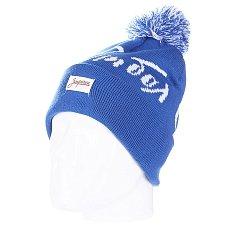 Шапка с помпоном Запорожец Football Beanies Blue