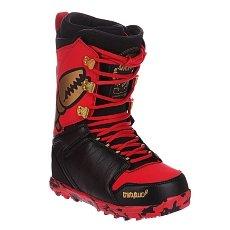 Ботинки для сноуборда Thirty Two Lashed Crab Black/Red