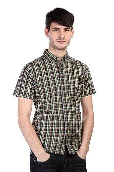 Рубашка в клетку Zoo York Warren SS Navy