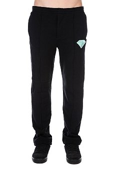 Штаны прямые Diamond Emblem Sweats Black