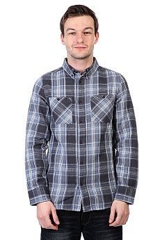 Рубашка в клетку Altamont Binary Ls Flannel Ash
