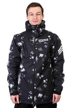 Куртка Grenade Blast Camo Jacket Black