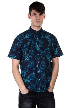 Рубашка Huf Floral S/S Woven Navy Floral