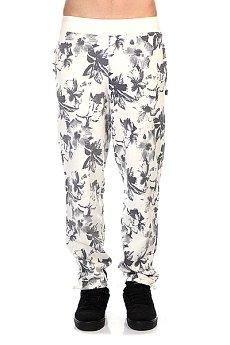 Штаны прямые Huf Floral Sweatpant White Floral