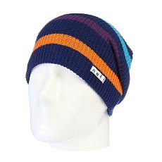 Шапка носок Neff Daily Stripe Navy/Multi