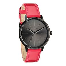 Часы женские Nixon Kensington Leather Bright Pink Patent