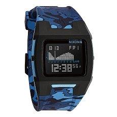 Часы Nixon Lodown Ii Black/Blue Camo