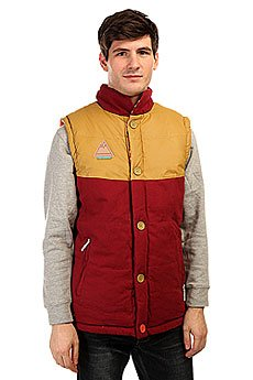 Жилет TrueSpin Alaska Vest Burgundy/Native