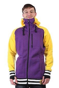 Толстовка сноубордическая Shweyka Exception Zip Yellow/Purple