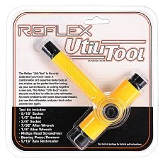 Ключ для скейтборда Reflex Tool Yellow/Black