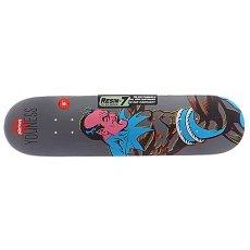 Дека для скейтборда Almost S5 Youness Sinestro R7 Grey 8.0 (20.3 см)