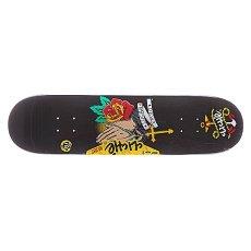 Дека для скейтборда Cliche S5 Puig Sailor Tattoo R7 Black 31.7 x 8.1 (20.6 см)