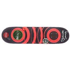 Дека для скейтборда Almost S5 Daewon Glow x The Dark Impact Orange 31.7 x 8.0 (20.3 см)