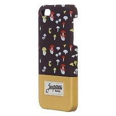 Чехол для iPhone Запорожец Грибочки Iphone 5/5s Brown/Sand