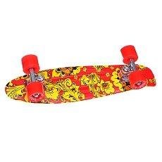 Скейт мини круизер Пластборд Khokhloma 6 x 22.5 (57.2 см)