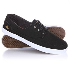 Кеды низкие Emerica Troubadour Low Black/White