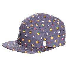 Бейсболка пятипанелька Altamont Parse Camp Hat Black