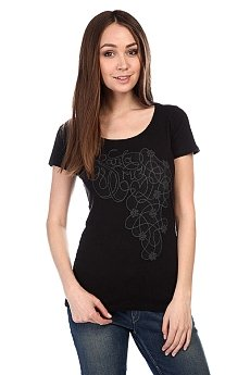 Футболка женская Santa Cruz Lacework Scoop Neck Black