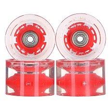 Колеса для лонгборда с подшипниками Sunset Long Board Wheel With Abec9 Red 78A 65 mm