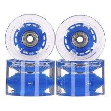 Колеса для лонгборда с подшипниками Sunset Conical Longboard Wheel Set With Abec9 Blue 78A 65 mm