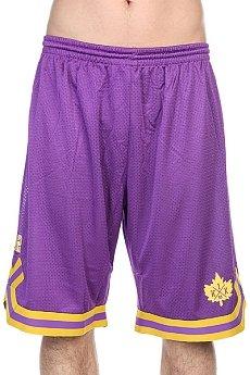 Шорты K1X Leaf Double-x Shorts Purple/Yellow