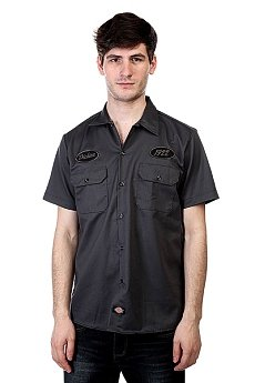 Рубашка Dickies Rotonda West Charcoal Grey