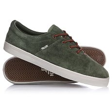 Кеды низкие Fallen York Surp Green/Sad Brown