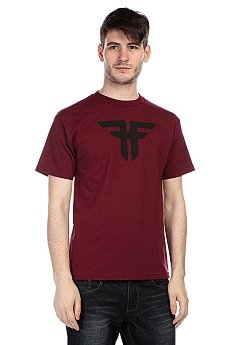 Футболка Fallen Trademark Burgundy/Black