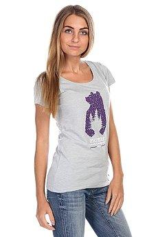 Футболка женская Picture Organic Totem Grey Melange Slub