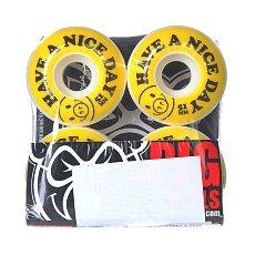 Колеса для скейтборда Pig Nice Day Yellow 101A 51 mm