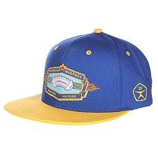Бейсболка Запорожец Баян Blue/Yellow