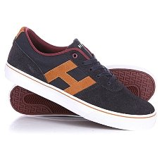 Кеды низкие Huf Choice Dark Navy/Sudan Brown