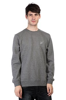 Толстовка Huf Small Script Crew Gunmetal Heather