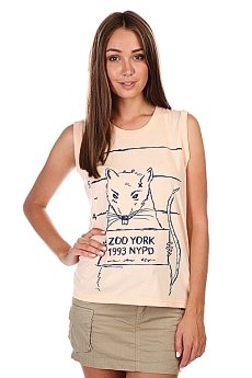 Майка женская Zoo York Mug Shot Tank Apricot