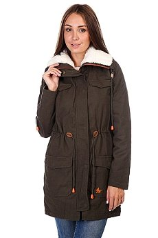 Пальто женское Zoo York Trudie Parka Olive Night