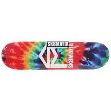 Дека для скейтборда Sk8mafia House Logo 2 Tie Dye 32.12 x 8.25 (21 см)