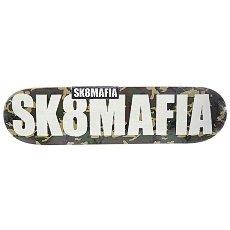 Дека для скейтборда Sk8mafia Og Logo 2 Camo 32.12 x 8.25 (21 см)