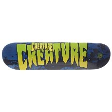 Дека для скейтборда Creature Sm Stained Blue 31.6 x 8.0 (20.3 см)